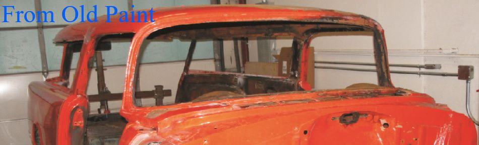 Sand Blasting Classic Car Blasting